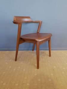 Teak wood chair by Collectif Designs