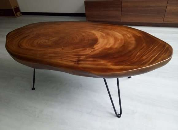 Suar wood coffee table by Collectif Designs