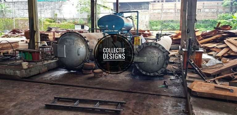 Collectif Designs solid wood vacuum treatment process