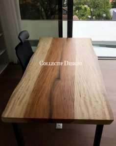 Mango wood table by Collectif Designs delivered to client in Singapore
