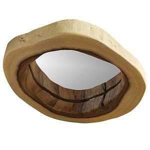 Suar wood mirror by Collectif Designs