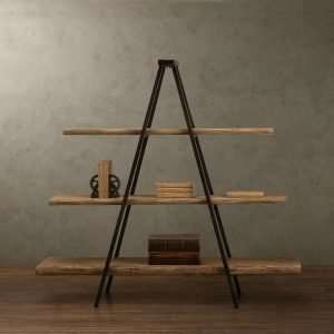 Suar wood bookshelf by Collectif Designs