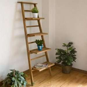 Teak wood bookshelf by Collectif Designs
