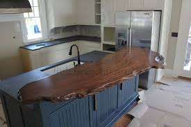 Suar wood countertop by Collectif Designs