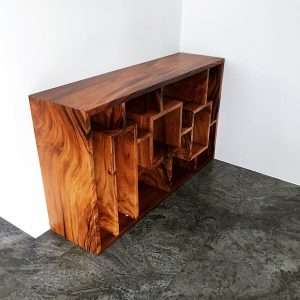 Suar wood cabinet by Collectif Designs delivered to client in Singapore
