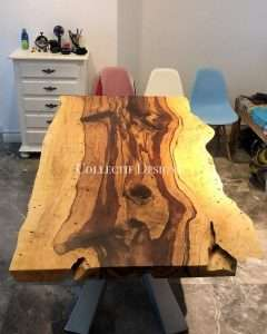 Tamarind wood table manufactured by Collectif Designs