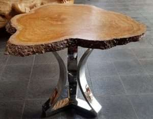 Teak wood furniture by Collectif Designs delivered to client in Singapore