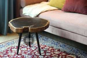 Sono wood coffee table by Collectif Designs delivered to client in Singapore